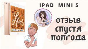 iPad mini 5 2019 отзыв спустя полгода